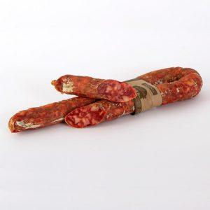 salsiccia stagionata affumicata piccante