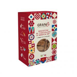 biscottini con cioccolato di Modica