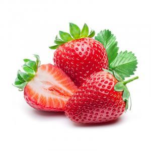 Sizilianischen Bio-Erdbeeren